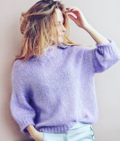 Пушистик готов и может отправляться к хозяйке💜 кто про него спрашивал?) ✅размер 42-44 ✅состав 70% кидмохер 30% шелк + пайетки ✅длина 56 см, ширина 52 см ✅стоимость 6000 рос.руб. ✅ доставка курьером 🎁 в подарок серьги-кисточки из перышек страуса в тон свитеру 💜 #knitwear #knitted #cardigan #стиль #мода #блоггер #вязанаяодежда #кардиган #свитер #купитьсвитер #купитькардиган #стиль #мода #lookoftheday #модныйсвитер #ручнаяработа #handknit #wool #softknit #назаказ #style #stylish #ootd… Sequin Sweater, Mohair Sweater, Pullover Sweaters, Knitting Sweaters, Crochet Cardigan, Knit Crochet, Winter Sweaters, Sweaters For Women, Angora