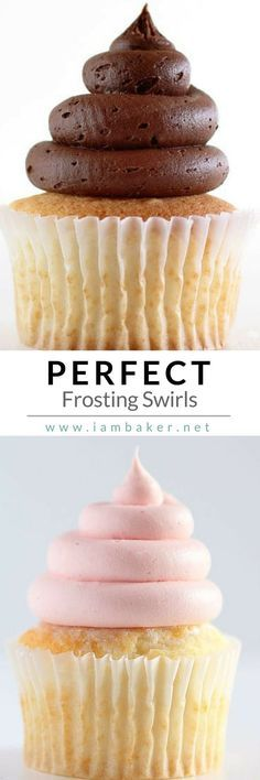 Love sweets? Here's a quick and simple way of creating that perfect frosting swirls with perfect whipped buttercream for your cupcakes. For more easy dessert recipes, visit us @iambaker #iambaker #desserts