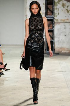 Proenza Schouler Spring 2013 RTW - Review | Keep the Glamour | BeStayBeautiful