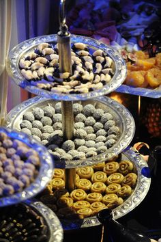 Moroccan sweets at the Sofitel Marrakesch