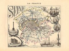 The map of Paris, with its famous snail-like spiral of its 20 districts (arrondissements), used to have a very different layout. The city's first arrondissements were established during the French Revolution in 1795, encompassing about half of Paris's current size carved up into 12 districts and 48 subdivisions. They stopped at 12 to avoid unlucky number 13. In the old system the irregularly shaped districts moved from right to left with districts 1 to 8 on the north side of the Seine and…
