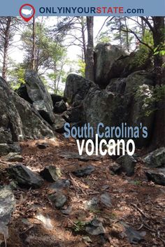 Travel | South Carolina | Volcanoes | US Volcanoes | Natural Wonders | Amazing Places | Hidden Gems | Beautiful Places