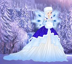 C: Sparkling in winter gardens by diamanteprincess.deviantart.com on @DeviantArt