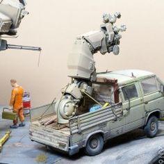 #Michael Herm ROOK, #VW T3, Industria Mechanika, 1:35