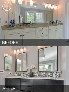 Jeff & Betsy's Hall Bath Before And After Pictures  Bath House Fascinating Bathroom Remodeling Service 2018