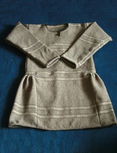 "It's modern copy of Guddal tunic (kjortel). viking's tunic from 10th century. It has been made by ""Skupaya Khel'"". Homespun from wool of three colours. Vikind dress, viking style."