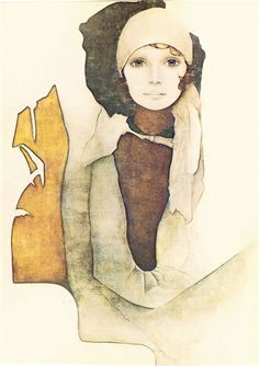 Simone by Rosamond Publishing Poster (Offset Lithograph) ~ 12 in x 16 . Light Painting, Painting & Drawing, Vintage Artwork, Print Artist, Watercolor Paintings, Watercolors, Art Gallery, Illustration Art, Sketches