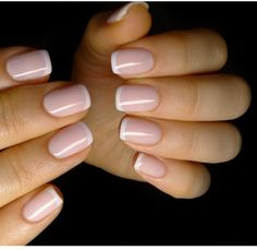 Short french nails, french tip nails, short nails, nail french, sns Pink French Manicure, White Tip Nails, French Acrylic Nails, French Pedicure, Nude Nails, Pink Nails, Coffin Nails, Baby Nails, French Manicures