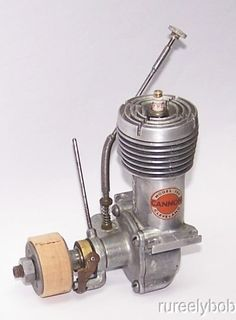 1946 Cannon .300 Spark Ignition Model Airplane Engine