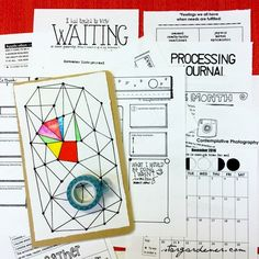 [Waiting] journal-planning guide // Right Brain Planner™ #rightbrainplanner #planner #kit