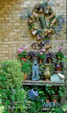 My potting bench nook