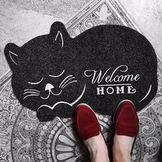 Cat  Floor Mat  Carpet Non-slip Rug doormat