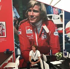 Hunt with Hunt! Red Leather, Leather Jacket, James Hunt, I Laughed, Champion, Bring It On, Face, Jackets, Fashion