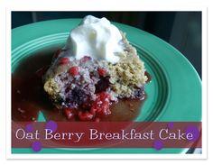 Berry Breakfast Cake- E {Trim Healthy Tuesday}