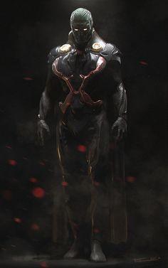 StuffNThings - herochan: Martian Manhunter Created by Egor...