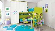 Dětské a studentské pokoje   Dětský pokoj Colombini GOLF C042   Kvalitní Dětský a Studentský Nábytek Smolíček
