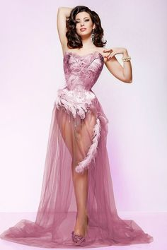 Burlesque Dress #dance #burlesque #dress #fashion