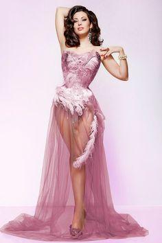 Burlesque Dress #dance #burlesque #dress #fashion