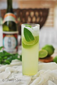 Cocktails.... Sake Mojito! #Cocktails #Sake #Mojito | Easy Japanese Recipes at JustOneCookbook.com