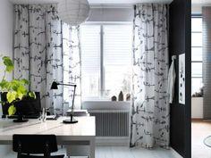 schottis tenda plissettata, bianco - Tende Ikea Salotto