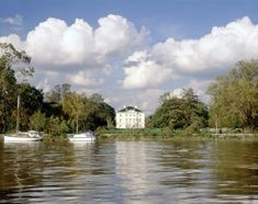 An poster sized print, approx mm) (other products available) - MARBLE HILL HOUSE, Twickenham, Richmond, Middlesex. View of the house from the River Thames. - Image supplied by Historic England - poster sized print mm) made in the UK London England Travel, London Travel, Marble Hill House, Richmond Upon Thames, English Heritage, River Thames, Poster Size Prints, Photo Mugs, Australia