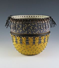 Handmade paper bowl - Angie Wiggins