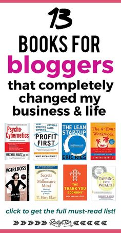 12 Best Books For Bloggers That Completely Changed My Business & Life Affiliate Marketing, Content Marketing, Internet Marketing, Email Marketing, Business Tips, Online Business, Business Website, Make Money Blogging, How To Make Money