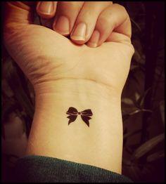bow tattoo   tattoo ideas   tattoo inspo   bows   style   fashion   15 Adorable Fashion Inspired Tattoos You Need to See