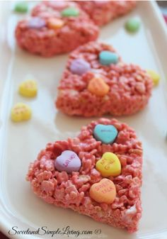 Conversation Hearts are a Valentine's Day staple for a reason—they're a tasty way to tell your friends and family you care this! Make this Rice Krispies Treats® recipe featuring this classic candy a try for a fun dessert you can make with the kids.