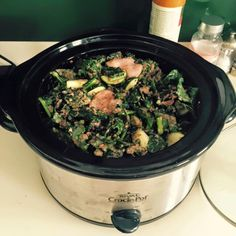 6 Week 20 Pound Challenge Recipe Guide: Chicken Kale Slow Cooker