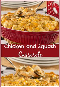 Give your family a hearty dinner they're sure to rave about with our easy recipe for Chicken and Squash Casserole!