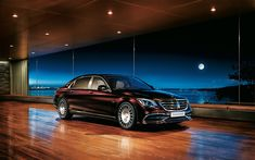 Download wallpapers Mercedes-Maybach S650, 4k, 2018 cars, luxury cars, S-class, Mercedes, Maybach