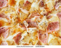 tasty pizza in Italian style on lunch break - stock photo