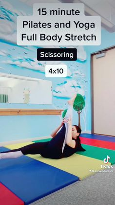 Hip Workout, Pilates Workout, Pilates Yoga, Yoga Videos, Workout Videos, Body Stretches, Exercises, Workouts, Flexibility Workout