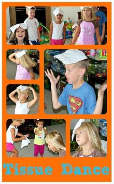 Tissue Dance Dance game for kids that teaches posture, body control, balance and concentration.Dance game for kids that teaches posture, body control, balance and concentration. Gross Motor Activities, Preschool Activities, Dance Activities For Kids, Indoor Activities, Summer Activities, Games For Preschoolers Indoor, Kindergarten Classroom Games, Movement Preschool, Games For Kids Classroom