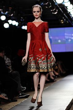 Love Spring Batik Dress by Iwan Tirta