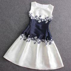 $43.00 | Fashion zipper Sleeveless Dress MSE49ET