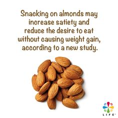 Are you gonna snack on almonds to trim your waistline?