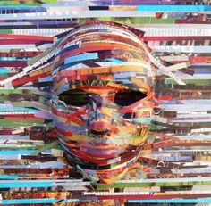 Self Image: Mask collage | Youth Work Resources