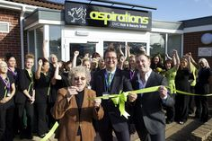 Eve Taylor OBE opened the new training suites at Dearne Valley College  http://www.beautyguild.com/news.asp?article=2607