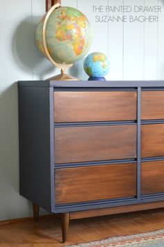 The Painted Drawer - General Finishes Gel Stain Tutorial