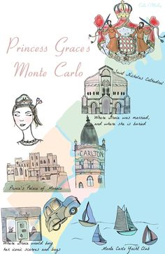 (Princess) Grace Kelly's Monte Carlo | Sparkles and Crumbs ᘡղbᘠ