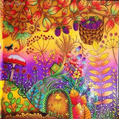 Johanna Basford Coloring Pages Magical Jungle Jungle Coloring Pages, Coloring Book Art, Animal Coloring Pages, Free Coloring, Adult Coloring, Enchanted Forest Book, Enchanted Forest Coloring Book, Lost Ocean, Magical Jungle Johanna Basford