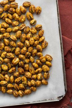 #Recipe: Curry-Roasted Pistachios