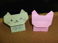 Daily Origami:  284 - Animal Puppets