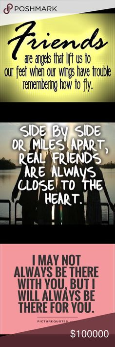 Some of these very special woman I call my besties They are there for me when I'm happy sad, having problems, need help... I hope and pray I help them too!! Friendship can't be justified by distance,  because a phone call or FaceTime is a moment away! I have a few ride or die girls they know who they are!!! Let's see yours!!! I can't thank these girls enough they pick me up, when I'm feeling down!! Bags, jewelry iso lists is just stuff... friends the ones who know u is my major iso…