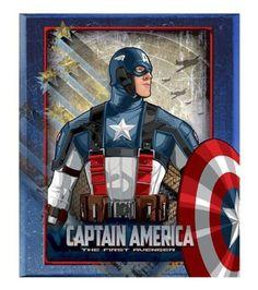 "Marvel Captain America, The First Avenger, Micro Raschel Plush Throw Blanket - 50"" x 60"", http://www.amazon.com/dp/B006X61ZZO/ref=cm_sw_r_pi_awdm_2KHCub1ABGKKH"