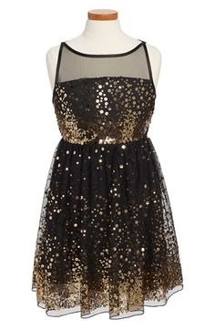Roxette Sleeveless Sequin Dress (Big Girls) available at #Nordstrom
