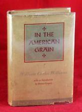 SIGNED WILLIAM CARLOS WILLIAMS 1925 IN THE AMERICAN GRAIN HARDCOVER W/DUSTJACKET William Carlos Williams, American, Books, Libros, Book, Book Illustrations, Libri