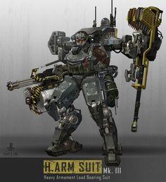 H. ARM Suit Mk. III